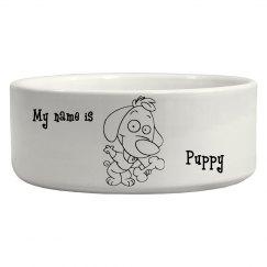 Puppy Love Pet Bowl
