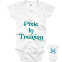 Pixie in Training Onesie