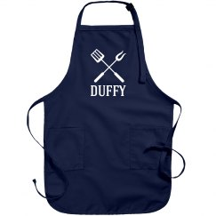 Duffy personalized apron