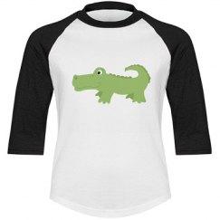 Cute Nantucket Alligator
