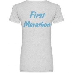 First Marathon (White)