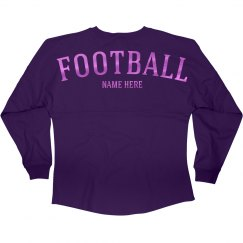Metallic Custom Football Jersey