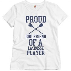 Proud girlfriend of a Lacrosse Player