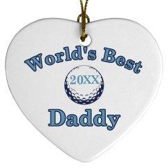 Daddy Ornament Design