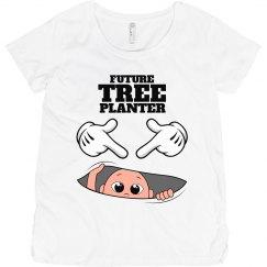 Maternity. Tree planter