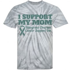 Support My Mom Tie Dye