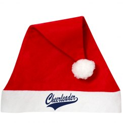 Cheerleader Santa Hat