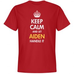 Keep calm and let Aiden handle it