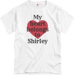 Heart belongs to Shirley