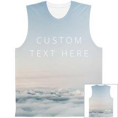 Custom Cloud Line All Over Print