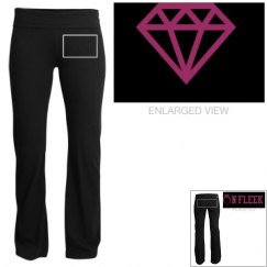 On fleek diamond pants