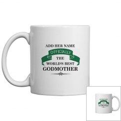 World's best Godmother Mug