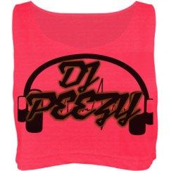 DJ Peezy Ladies Crop Top