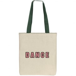 Pink Dance Tote Bag