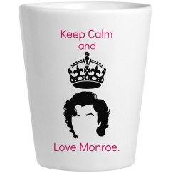 Monroe Shot Glass