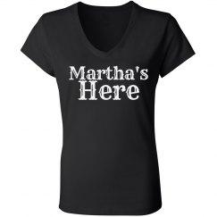 Martha's Here