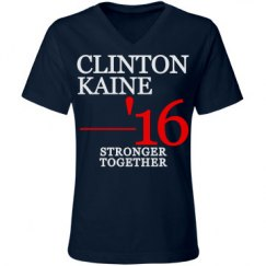 Clinton Kaine Stronger Together
