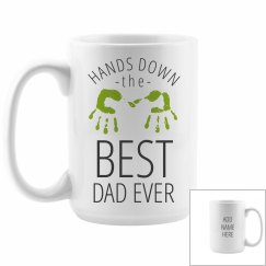 Best Dad Ever Custom Large Mug