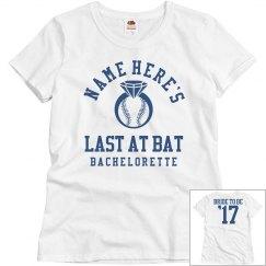 The Baseball Bachelorette Bride