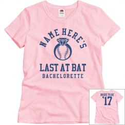 The Baseball Bachelorette Bride