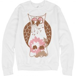 Pink Owl Design #5