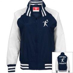 Custom badminton jacket