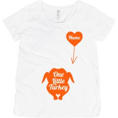 Turkey Day Maternity Tee