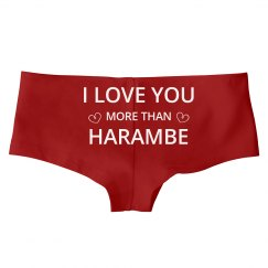 Valentine's Love For Harambe