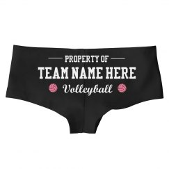 Custom Property Of Volleyball