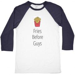 Fries Before Guys crop top