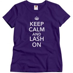 Keep Calm & Lash On