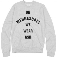 On Lent Wednesdays We Wear Ash