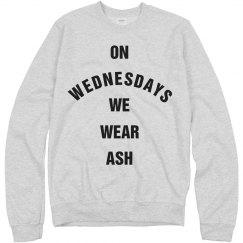 On Lent Wednesdays We Wear Ash