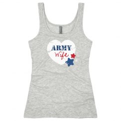 Patriotic Army Wife