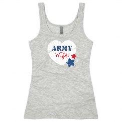 Patriotic Army Wife