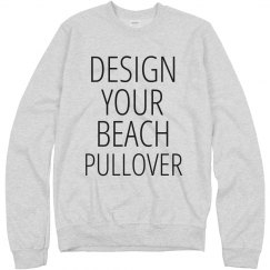 Custom Beach Pullover