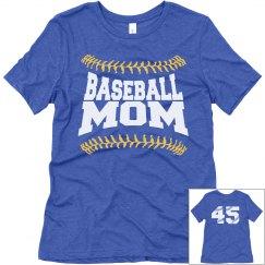 Custom Baseball Mom