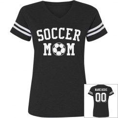 Custom Trendy Soccer Mom Jersey