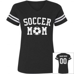 Custom Trendy Soccer Mom Jersey