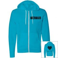 Ladies mermaid hoodie