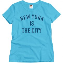 New York is the city