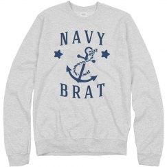 Navy Brat Pullover