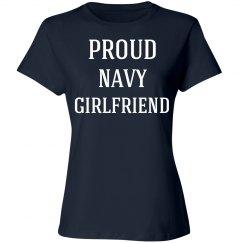 Proud navy girlfriend