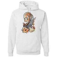 Koi Fish Hoodie