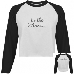 Moon and Back Top