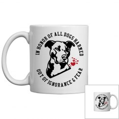 Pit Bull Dog Lovers Coffee Mug