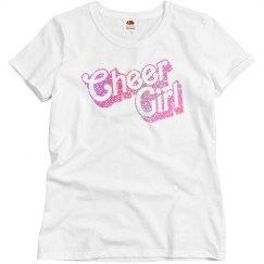 Custom Glitter Cheer Bling Shirt
