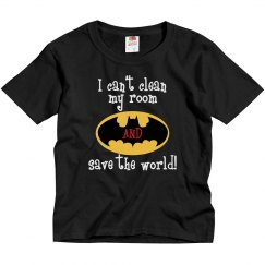Bat - clean room and save world