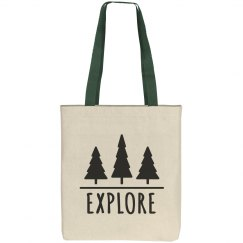 Explore The Woods Tote
