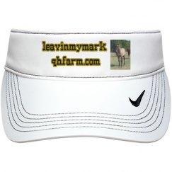LMM #56 Fancy Square Pants 2015 grulla filly visor